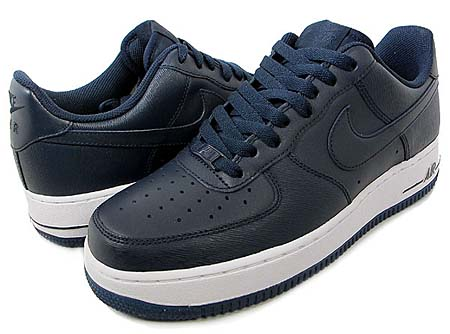 NIKE NIKE AIR FORCE 1 LOW 07 [OBSIDIAN/OBSIDIAN-WHITE] 315122-406 画像