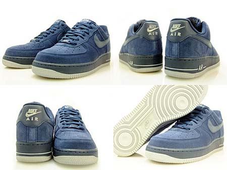 NIKE AIR FORCE 1 LOW [OBSIDIAN/OBSIDIAN-NEUTRAL GREY] 315122-409