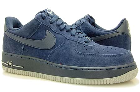 NIKE NIKE AIR FORCE 1 LOW [OBSIDIAN/OBSIDIAN-NEUTRAL GREY] 315122-409 画像