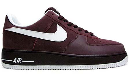 NIKE NIKE AIR FORCE 1 LOW 07 [DEEP BURGUNDY/WHITE] 315122-604 画像