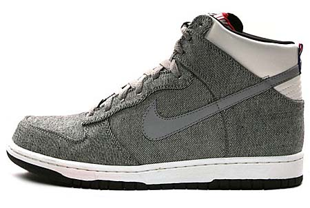 NIKE NIKE DUNK HIGH PREMIUM '08 ND [MEDIUM GRAY/SAIL-BLACK] 317892-019 画像