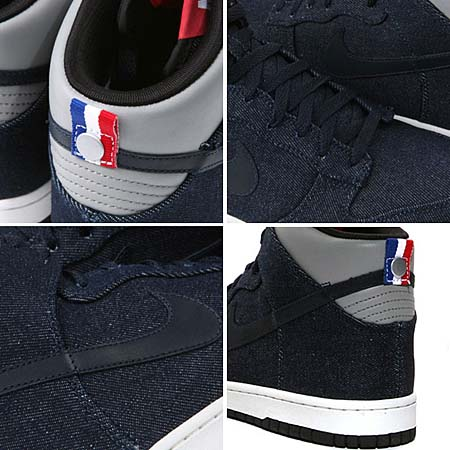 NIKE DUNK HIGH PREMIUM 08 ND [OBSIDIAN/MEDIUM GRY-SAIL-BLK] 317892-400
