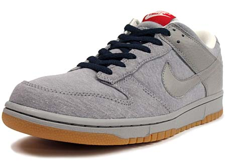 NIKE NIKE DUNK LOW 08 CL ND [MEDIUM GREY/NAVY/RED] 318020-008 画像