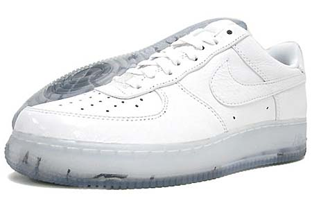 NIKE NIKE AIR FORCE 1 LOW PREMIUM [WHITE|TRUE COLORS」 318775-100 画像