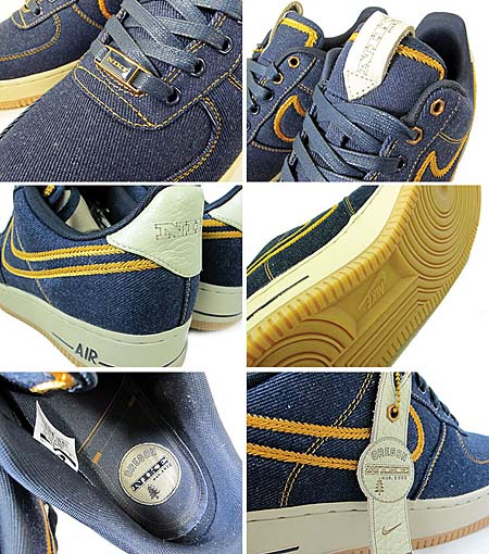 NIKE AIR FORCE 1 LOW PREMIUM [DENIM] 318775-404