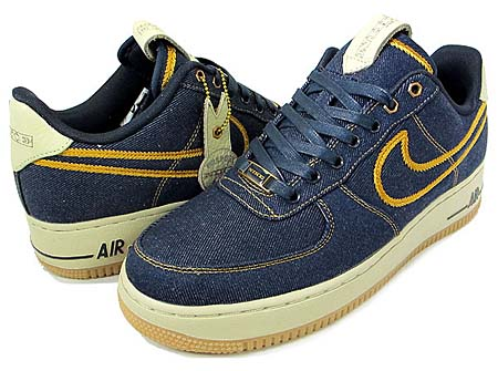 NIKE NIKE AIR FORCE 1 LOW PREMIUM [DENIM] 318775-404 画像