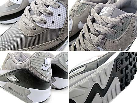 NIKE AIR MAX 90 [MEDIUM GREY/BLACK-WHITE] 325018-043