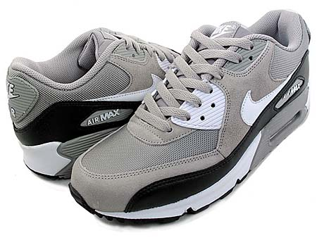 NIKE NIKE AIR MAX 90 [MEDIUM GREY/BLACK-WHITE] 325018-043 画像