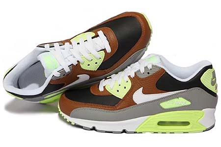 NIKE AIR MAX 90 [HAZELNUT/WHITE-BLACK-MDM GREY] 325018-203