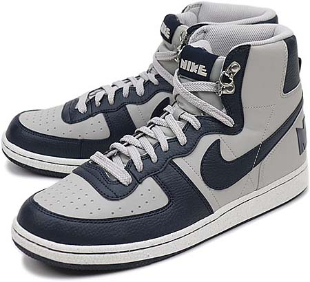 NIKE NIKE TERMINATOR HIGH BASIC [GRANITE/DARK OBSIDIAN/SAIL] 336609-003 画像