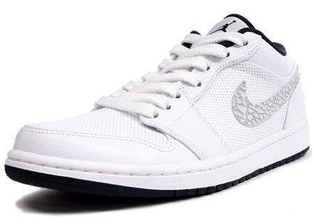 NIKE NIKE AIR JORDAN 1 PHAT LOW [WHITE/ANTHRACITE] 338145-110 画像
