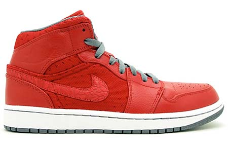 NIKE NIKE AIR JORDAN 1 PHAT [VARSITY RED/COOL GREY-WHITE] 364770-602 画像