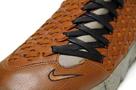 NIKE AIR FOOTSCAPE MOTION TZ [Hazelnut/Grit-Black] 386130-200