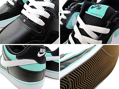 NIKE SB ZOOM PAUL RODRIGUEZ 2.5 [BLACK/TIFFANY] 386613-008