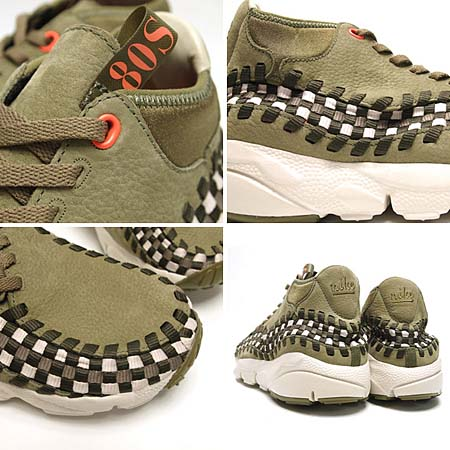 NIKE AIR FOOTSCAPE WOVEN CHUKKA [DARK ARMY] 443686-201