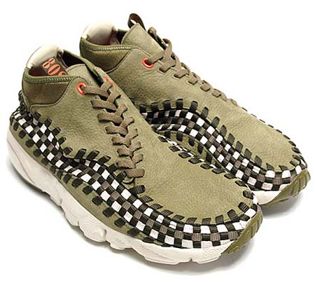 NIKE NIKE AIR FOOTSCAPE WOVEN CHUKKA [DARK ARMY] 443686-201 画像