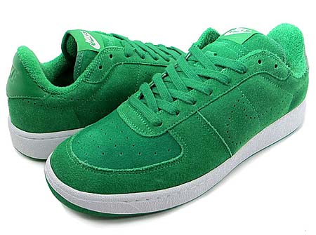 NIKE NIKE ZOOM SUPREME COURT LOW [LUCKY GREEN/LUCKY GREEN-WHITE] 447843-300 画像