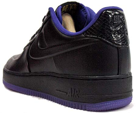 NIKE AIR FORCE 1 LOW SUPREME VT [BLACK/BLK-VRSTY PRPL-VRSTY MZ] 453433-001