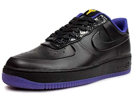 NIKE NIKE AIR FORCE 1 LOW SUPREME VT [BLACK/BLK-VRSTY PRPL-VRSTY MZ] 453433-001 画像