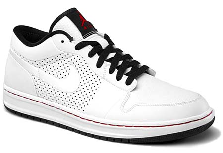 NIKE NIKE AIR JORDAN ALPHA 1 LOW [WHITE/BLACK-VARSITY RED] 453839-101 画像