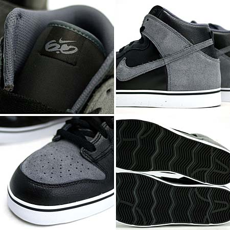 NIKE 6.0 DUNK SE HIGH [BLACK/GREY] 454056-001