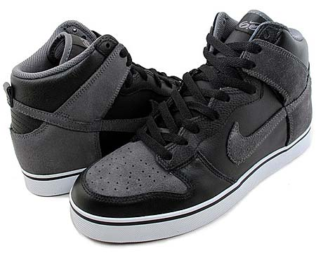NIKE NIKE 6.0 DUNK SE HIGH [BLACK/GREY] 454056-001 画像