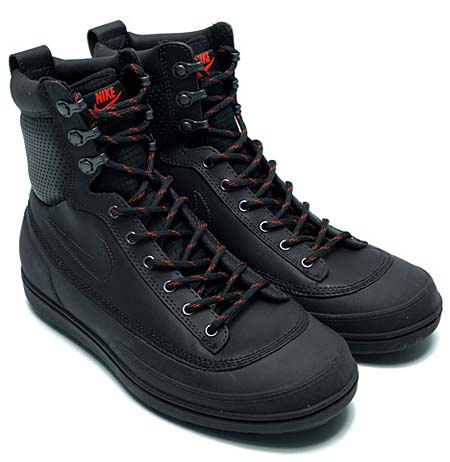 NIKE TYCHEE MID [BLACK/BLACK-ANTHRACITE-TEAM ORANGE] 454418-001