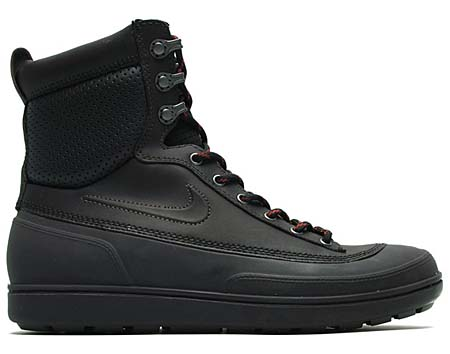 NIKE NIKE TYCHEE MID [BLACK/BLACK-ANTHRACITE-TEAM ORANGE] 454418-001 画像