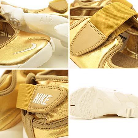 NIKE AIR RIFT [METALLIC GOLD] 454441-700
