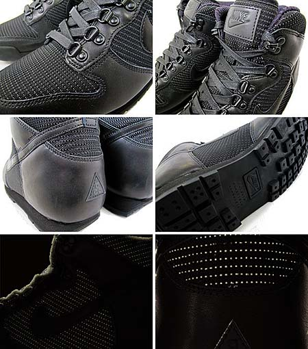 NIKE LAVA DUNK HIGH PREMIUM [BLACK/BLACK] 454480-003