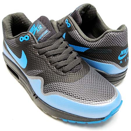 NIKE NIKE AIR MAX 1 HYPERFUSE PREMIUM [MIDNIGHT FOG/MEDIUM GREY-BLUE GLOW] 454745-002 画像