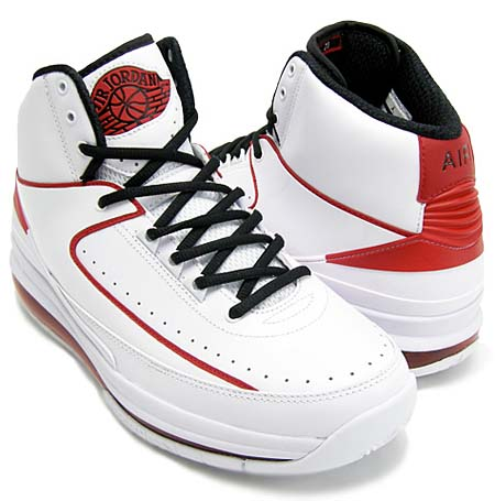 NIKE AIR JORDAN 2.0 [WHITE/BLACK/VARSITY RED] 455616-100