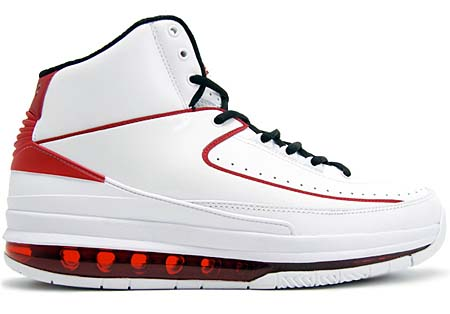 NIKE NIKE AIR JORDAN 2.0 [WHITE/BLACK/VARSITY RED] 455616-100 画像