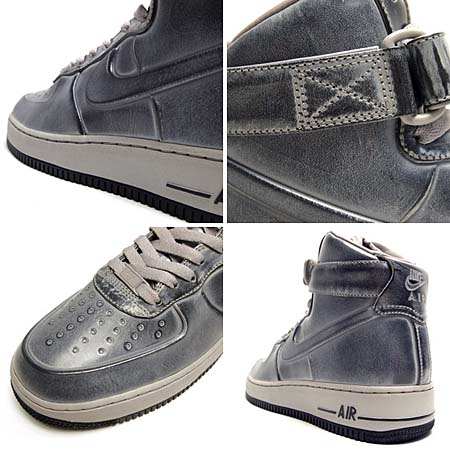 NIKE AIR FORCE 1 HIGH VT SUPREME [PEWTER] 469775-001