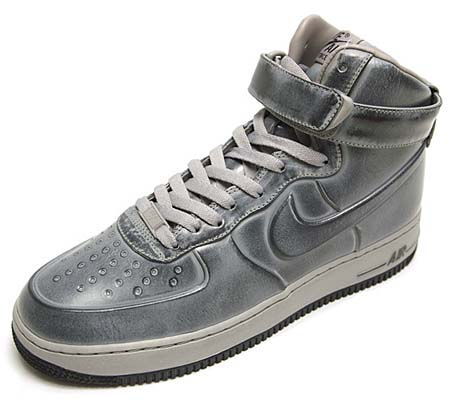 NIKE NIKE AIR FORCE 1 HIGH VT SUPREME [PEWTER] 469775-001 画像