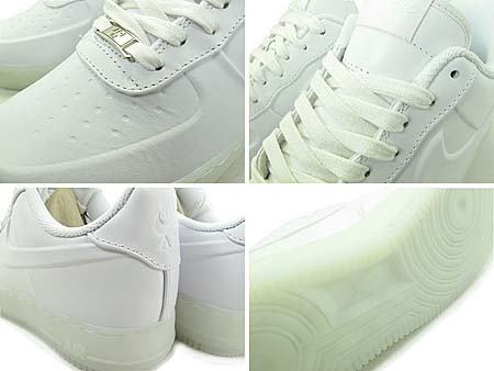 NIKE AIR FORCE 1 LOW VT PRM WHITEOUT [WHITE] 472830-100
