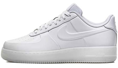 NIKE NIKE AIR FORCE 1 LOW VT PRM WHITEOUT [WHITE] 472830-100 画像