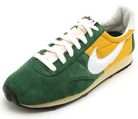 NIKE NIKE PRE MONTREAL RACER VINTAGE [GEORGE GREEN/SUMMIT WHITE-SAIL-YELLOW OCHER] 476717-300 画像