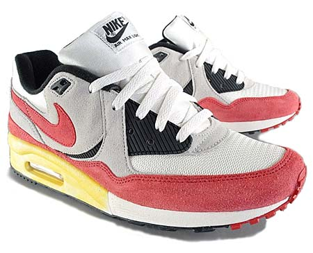 36d6d4c017 NIKE AIR MAX LIGHT VNTG QS [WHITE/NEUTRAL GREY-SPORT RED] 482932