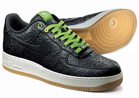 NIKE NIKE AIR FORCE 1 LOW PREMIUM QS [BRASIL - E POSSIVEL] 486815-001 画像