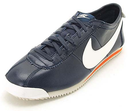 NIKE NIKE CORTEZ CLASSIC OG LEATHER [NAVY/WHITE] 487777-400 画像