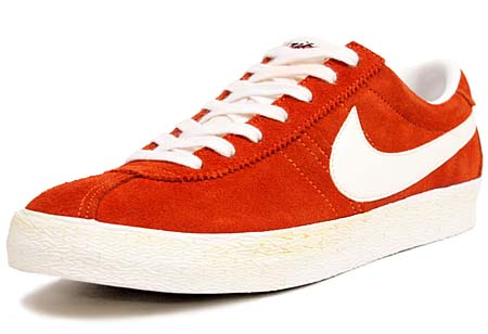 NIKE NIKE BRUIN VINTAGE [ORANGE EMBER/SAIL-SUMMIT WHITE] 488315-800 画像
