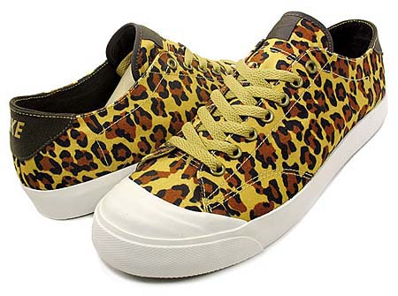 NIKE NIKE ZOOM ALL COURT 2 LOW TZ [FragmentDesign|GOLD LEOPARD] 488492-700 画像