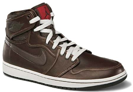 NIKE AIR JORDAN 1 KO PREMIUM [Dark Cinder/Black-Varsity Red] 503539-200