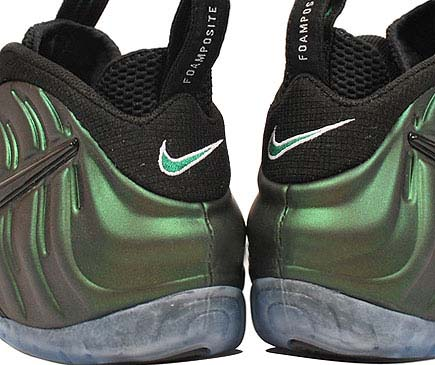 NIKE AIR FOAMPOSITE PRO [DIRK PINE GREEN] 624041-301