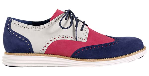 Cole Haan LUNARGRAND WINGTIP [RED/WHITE/BLUE] C11210 写真1