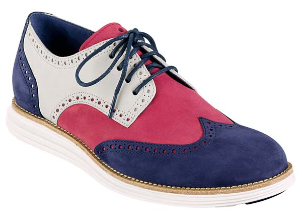 Cole Haan LUNARGRAND WINGTIP [RED/WHITE/BLUE] C11210