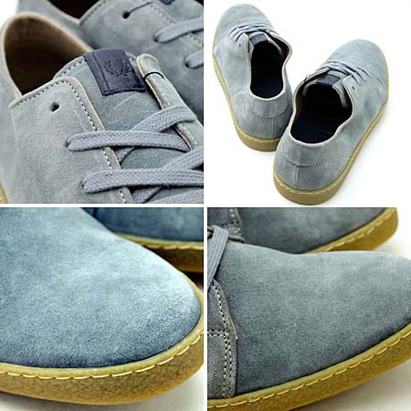 FRED PERRY SEASTON SUEDE [LIMESTONE] b9048 写真2