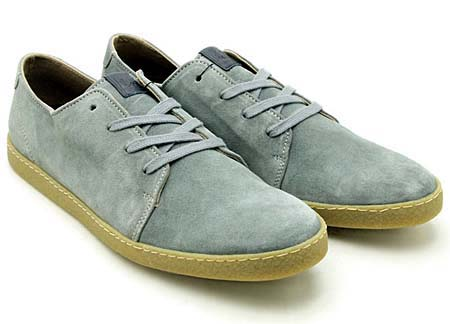 FRED PERRY SEASTON SUEDE [LIMESTONE] b9048