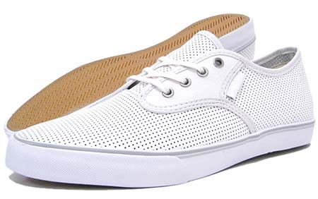 GRAVIS SLYMZ LEATHER [WHITE PERF] 268893-105
